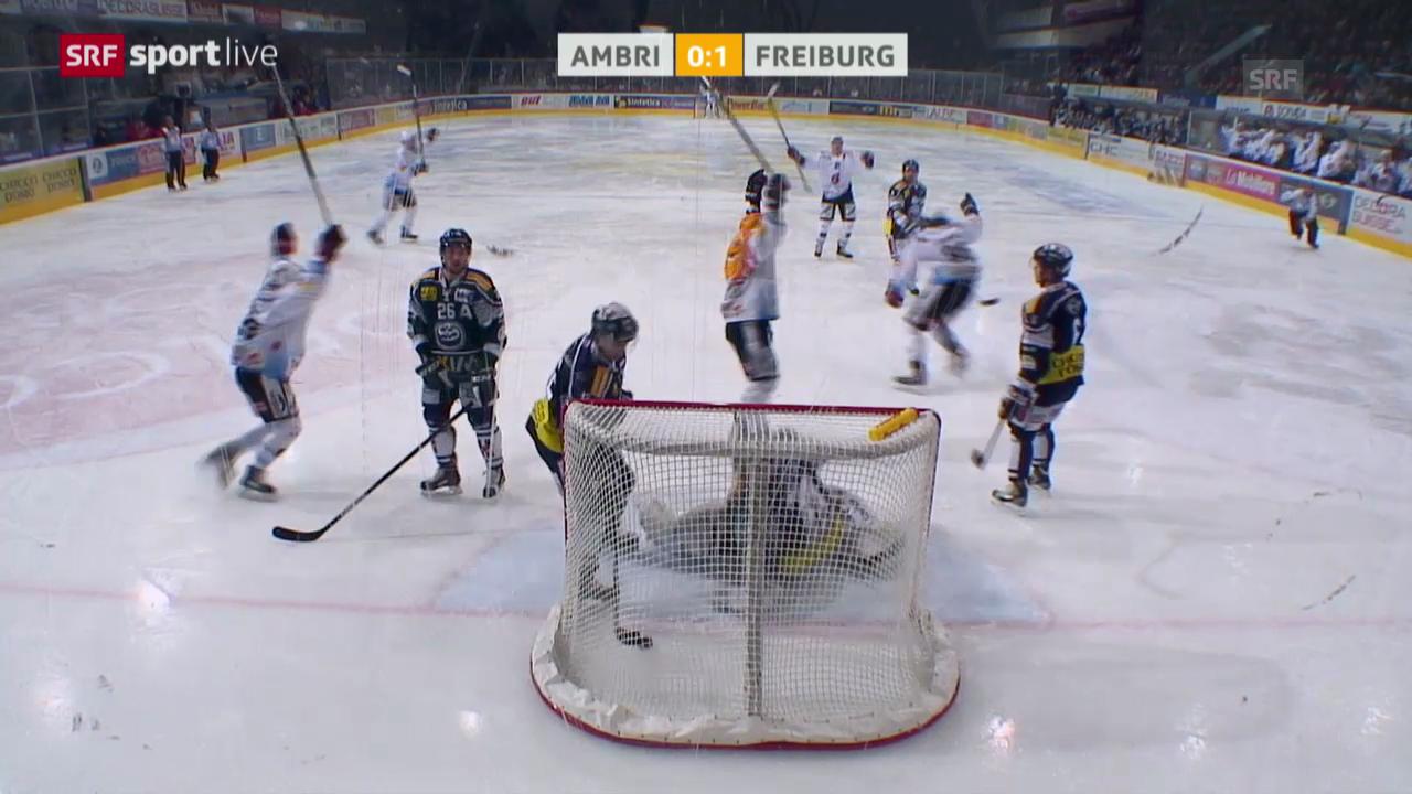 Eishockey: Playoffs, Ambri - Freiburg («sportlive», 13.03.2014)