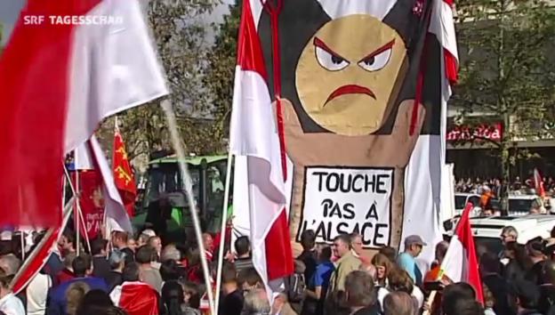 Video «Frankreich will Regionen zwangs-fusionieren» abspielen