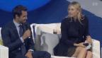 Video «In den Startlöchern: Roger Federer in Brisbane» abspielen