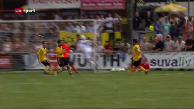 Video «Cup: Cornol-Lausanne («sportpanorama»)» abspielen