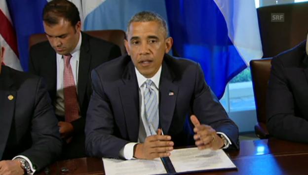Video «Obama zu den Migrantenkindern (englischer Originalton)» abspielen