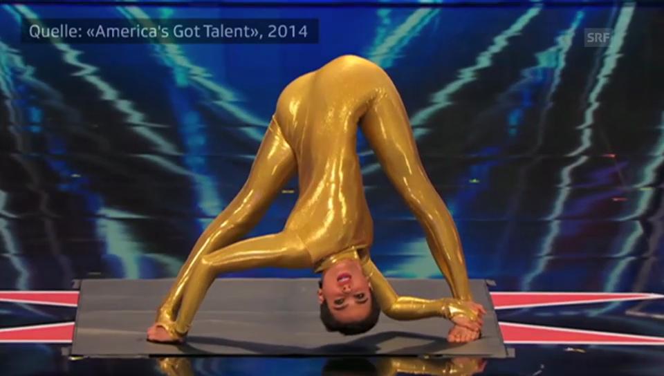 Nina Burri bei «America's Got Talent»