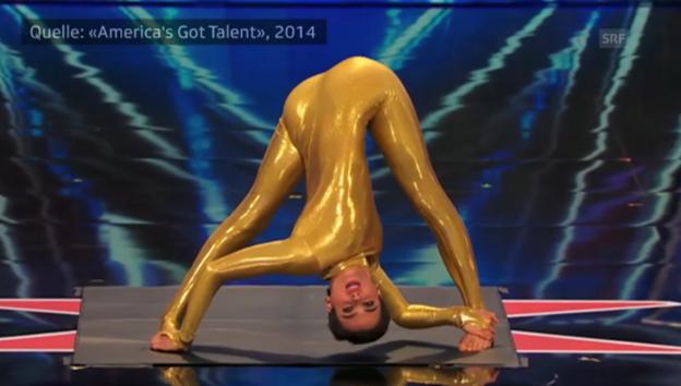Video «Nina Burri bei «America's Got Talent»» abspielen