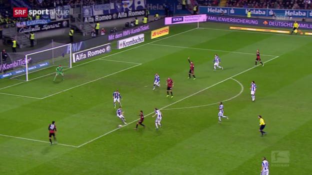 Video «Seferovics Treffer gegen Berlin» abspielen