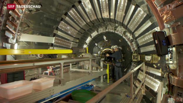 Video «Teilchenbeschleuniger läuft wieder» abspielen