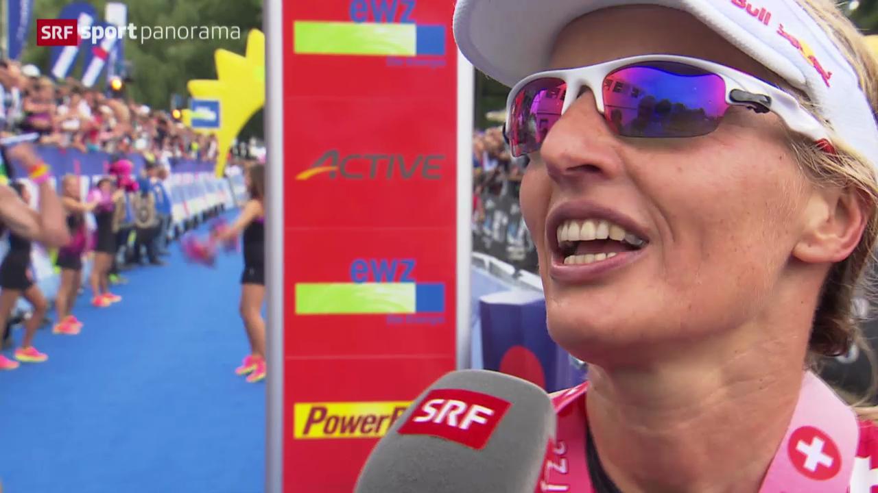 Triathlon: Interview mit Natascha Badmann