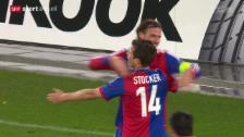 Video «Fussball: Basel - Maccabi Tel Aviv» abspielen