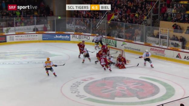 Video «Erfolgreiche Revanche der Tigers» abspielen