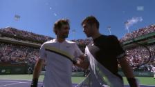 Link öffnet eine Lightbox. Video Federer gewinnt Zitter-Partie gegen Coric abspielen