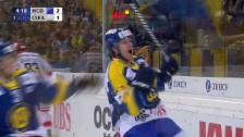 Video «Eishockey. Spengler Cup 2013, HCD-Tor durch Verstärkungsspieler Danielsson» abspielen