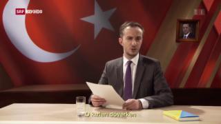 Video «Merkel erlaubt Strafverfolgung Böhmermanns» abspielen