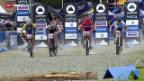 Video «Mountainbike: Stirnemann bei Eliminator auf Podest» abspielen