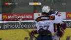 Video «Zug behauptet Leaderposition dank Sieg in Genf» abspielen