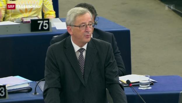 Video «Jean-Claude Juncker neuer Präsident der EU-Kommission» abspielen