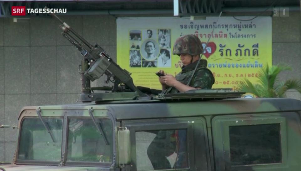 Armee greift in Thailand durch