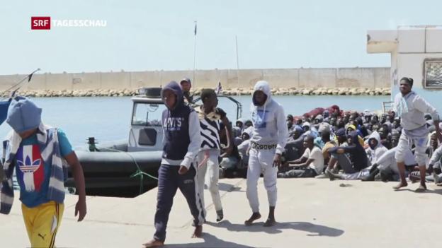 Video «Wie weiter mit der Flüchtlingspolitik?» abspielen