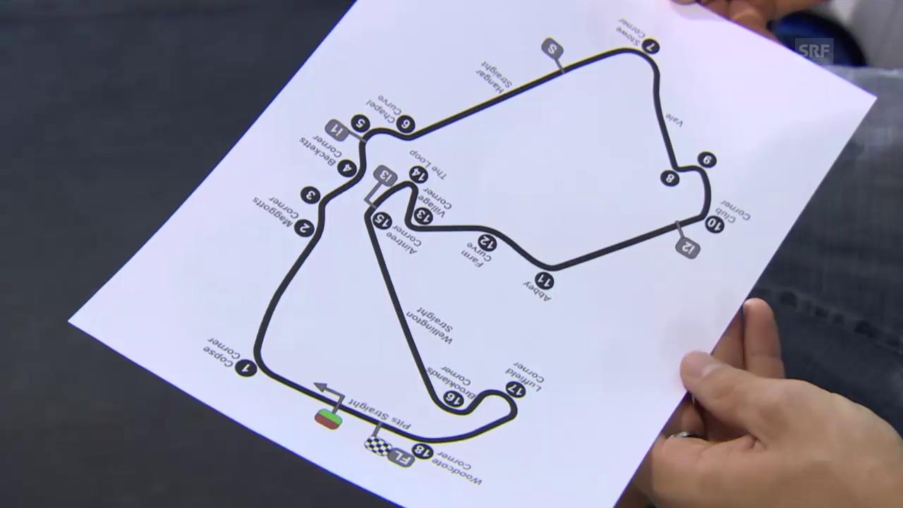 Moto2: GP Silverstone, Aegerter erklärt die Strecke