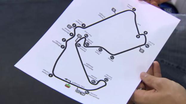 Video «Moto2: GP Silverstone, Aegerter erklärt die Strecke» abspielen