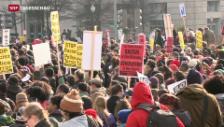 Video «Protestmarsch gegen Polizeigewalt» abspielen