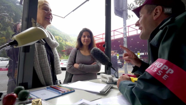 Video «Ambri: Zoll der italienischen Schweiz» abspielen