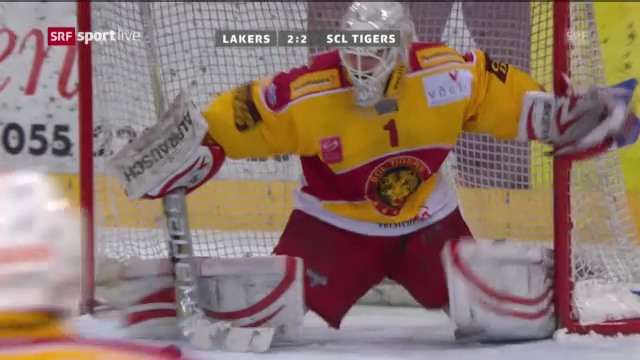Eishockey: Lakers - SCL Tigers («sportlive»)