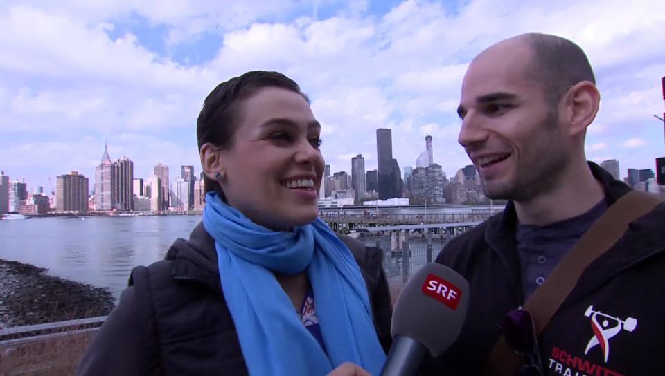 Nina Burri in New York