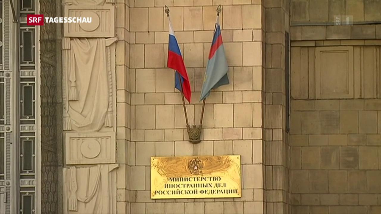 Russland weist Diplomaten aus