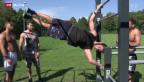 Video «Neuer Trend: Street Workout» abspielen