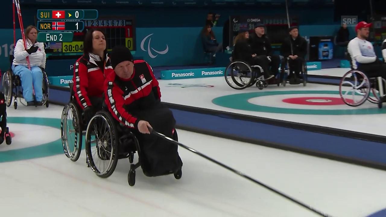 Schweizer Curler kassieren Niederlagen