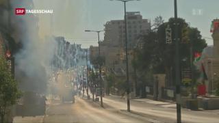 Video «Toter und Verletzte bei Jerusalem-Protesten » abspielen