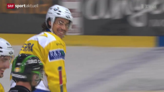 Video «Eishockey: Freiburg-Davos» abspielen