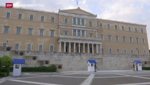 Video «Griechenland unter Druck» abspielen