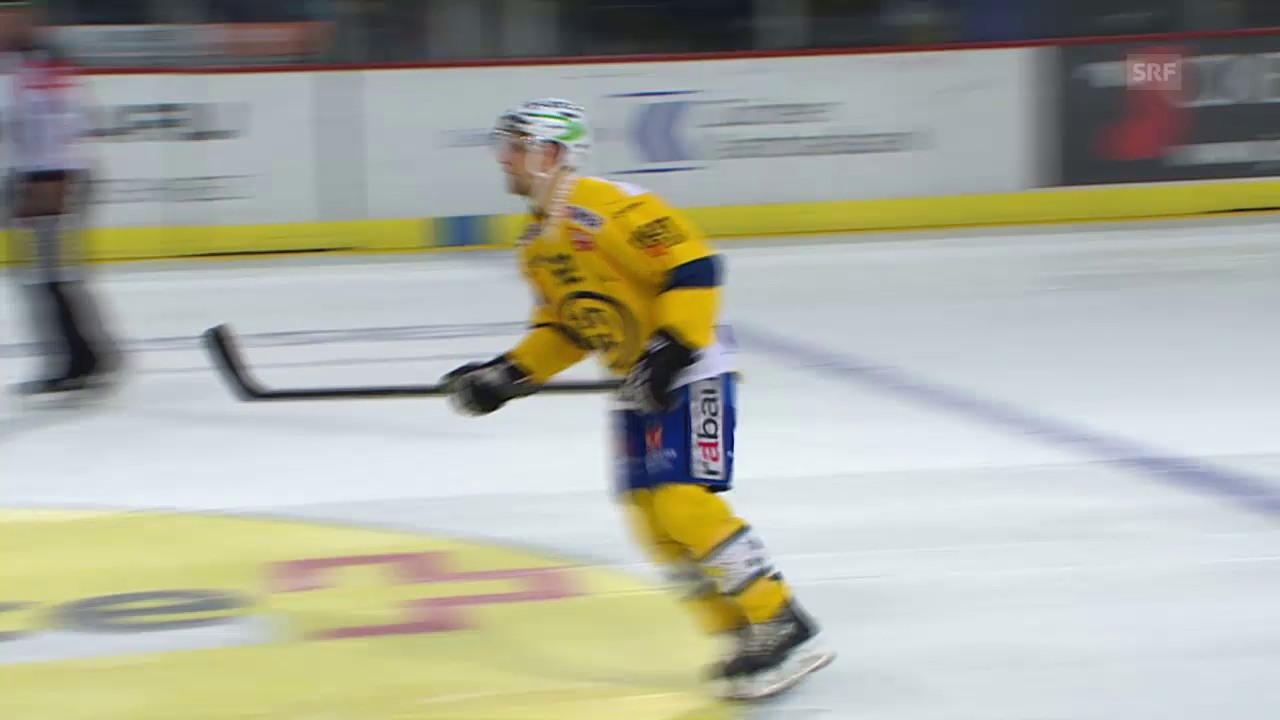 Eishockey: 3. Playoff-Final 2015, ZSC-HCD, 2:3, PenaltyDu Bois und Bärtschi