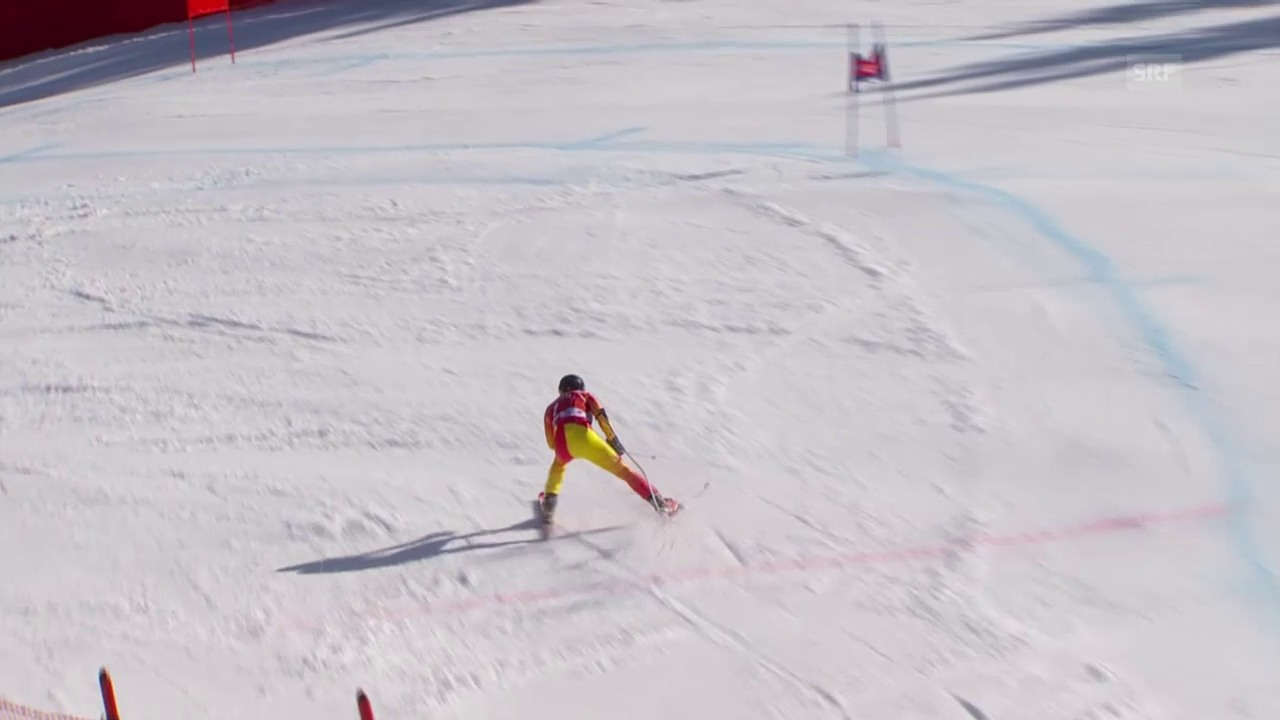 Ski alpin: Weltcup der Männer, Super-G in Kvitfjell, Sturzfestival