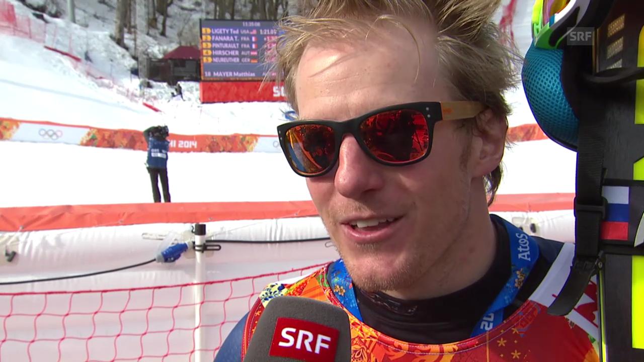 Ski: Riesenslalom Männer Sotschi, Interview Ted Ligety (sotschi direkt, 19.2.14)