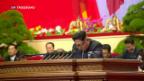 Video «Kim Jong-un zu nuklearen Waffen» abspielen