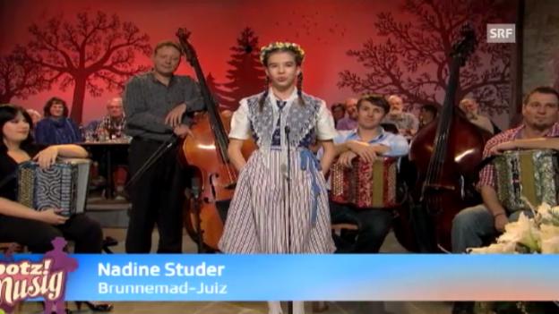 Video «Brunnemad-Juiz - Nadine Studer» abspielen
