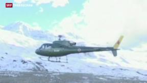 Video «Noch immer 70 Vermisste am Himalaya» abspielen