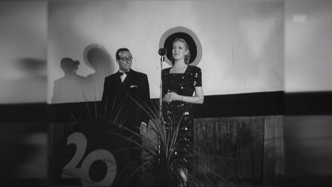 Linda Darnell in Locarno (1947)