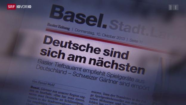Video «Rechte Zeitung im linken Basel» abspielen