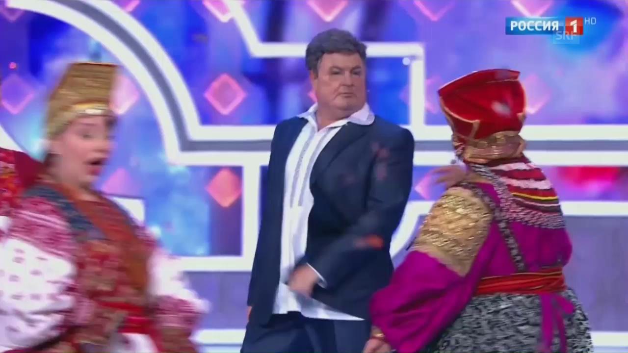 Staatssatire im russischen Fernsehen