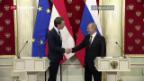 Video «Putin auf Staatsbesuch in Wien» abspielen