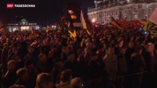 Video «Wachsender Protest gegen Flüchtlinge in Deutschland» abspielen