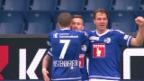 Video «Luzern schlägt Thun mit 3:0» abspielen