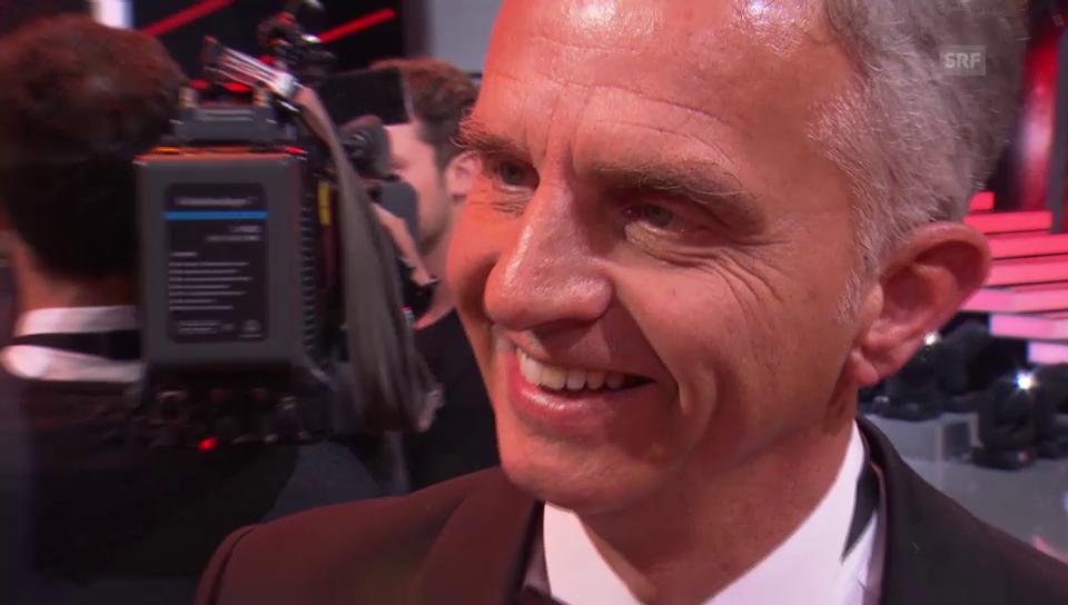 Didier Burkhalter über seinen Sieg
