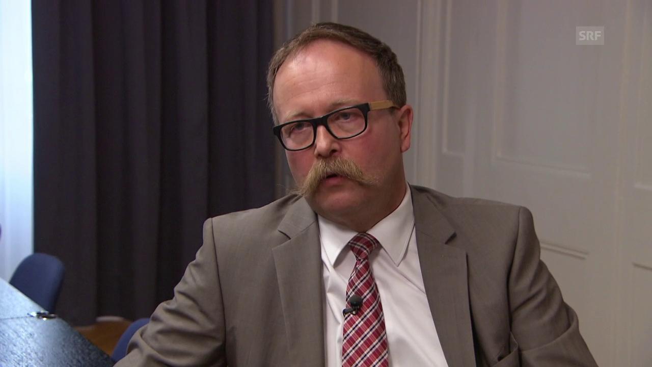 Direktor Egger zur Sicherheit im Thorberg