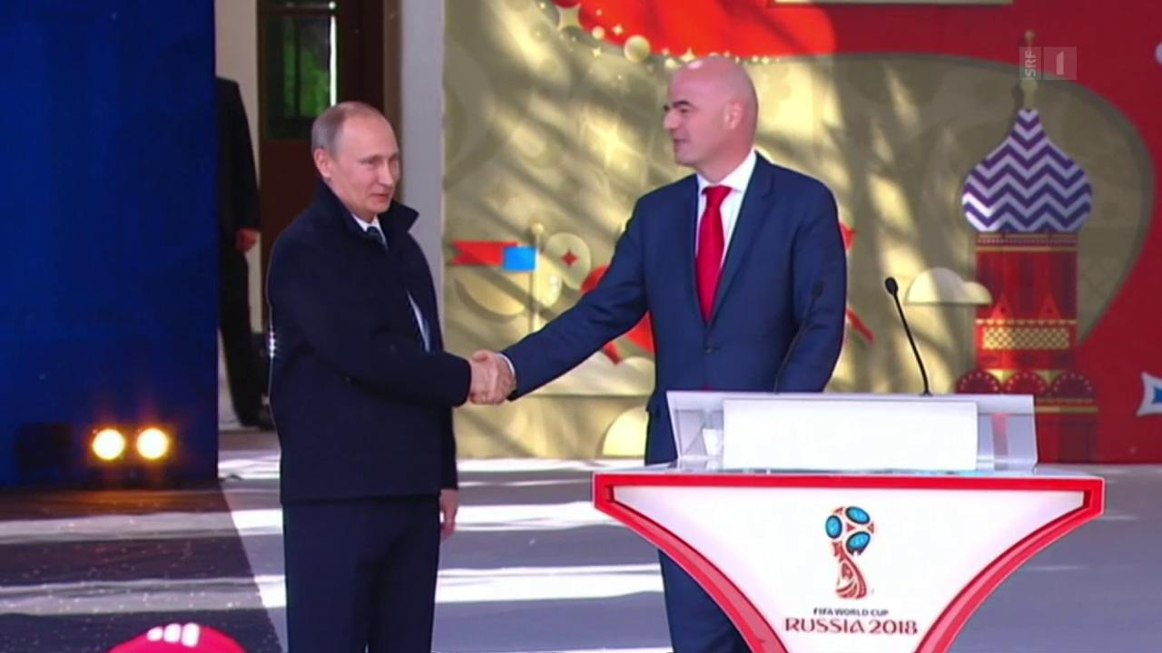 Putins Fussballshow: Boykott-Aufrufe gegen WM in Russland