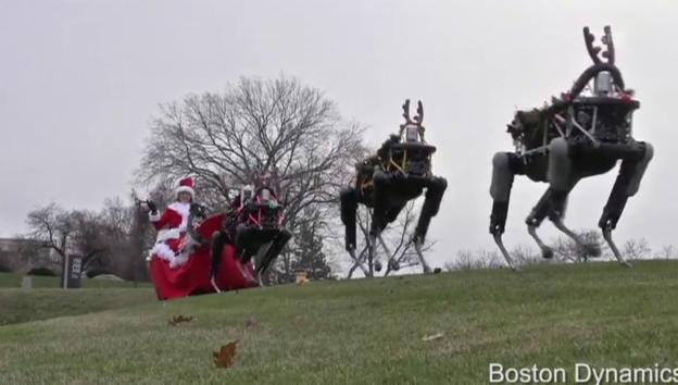 Video «Santa Clause der Moderne» abspielen