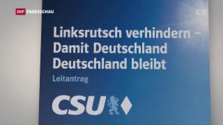 Video «CSU tagt ohne Merkel» abspielen