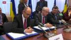 Video «Ukraine und EU rücken zusammen» abspielen